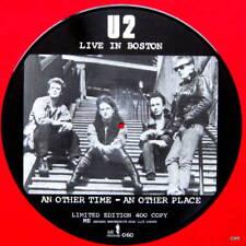 """U2   Rare  picture disc record 12"""" EP Live in Boston"""