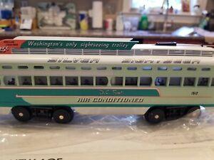 MTH-Rail King #30-2510-0 Washington DC Transit PCC Trolley  Excellent +