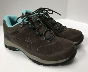 New Balance Women's 779v1 Trail Walking Shoe Brown Water Resistant Size 10 Wide