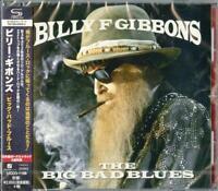 BILLY GIBBONS-BIG BAD BLUES-JAPAN SHM-CD BONUS TRACK F83