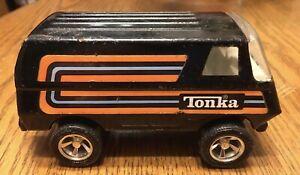 Vintage 1979 Tonka Black Custom Van #55450