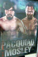 MANNY PACQUIAO vs MOSLEY Original DVD BOXING REGION 0 Philippines