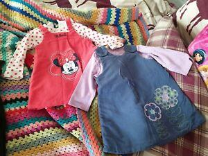 Girls dresses 9-12 months