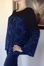 MICHAEL MICHAEL KORS Women Winter Teal Bell Sleeve Tunic Blouse NWT Size L 110$