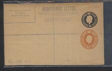 Great  Britain  double embossed  registered envelope  unused       KEL0514