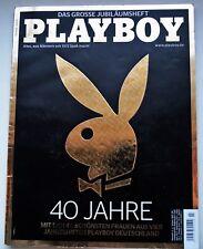 Playboy D 7/2012 40 Jahre Playboy Jubiläum DANIELA SUDAU,FRANZY BALKANS 11P