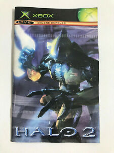 XBOX ORIGINAL Halo 2 -  Instruction Manual Only NO GAME