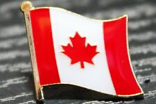 Canada Canadian Country Metal Flag Lapel Pin Badge
