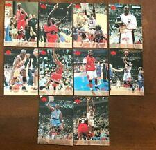 1998 Upper Deck MJX Michael Jordan Timelines 4th Quarter SP Foil Set 121-130