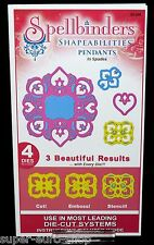 "Spellbinders Shapeabilities Pendants ""Lattice"" S4-210 4 Stanz- und Prägeformen"