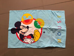 Boys 2 x single duvet cover sets VGC *Mickey Mouse & spots/stripes**