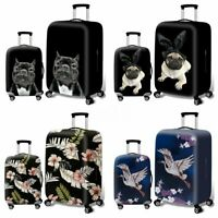 """Modish Elastic Travel Luggage Cover Protector Suitcase Dust Proof Bag 18"""" ~ 32''"""