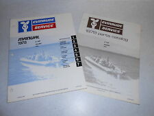 1978 2 hp Johnson Outboard Motor Repair Service & Parts Manual Evinrude 2hp