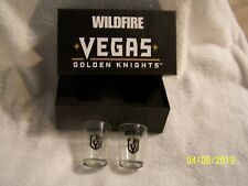 """VEGAS GOLDEN KNIGHTS HOCKEY """"SHOTGLASSES""""NEW IN BOX-AWESOME COLLECTIBLES-"""