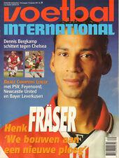 V.I. 1997 nr. 39 - HENK FRÄSER / BERGKAMP / CHAMPIONS LEAGUE / ROB McKINNON