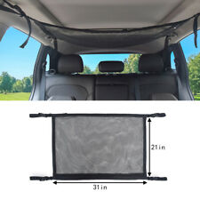 Car Roof Cargo Trunk Storage Net Mesh Adjustable SUV Organizer Luggage Universal