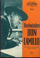 """IFB Illustrierte Film Bühne Nr. 6260 """" Hochwürden DON CAMILLO """""""