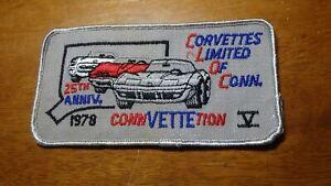 rare corvettes limited of Connecticut 1978 chevy corvette auto  PATCH  BX C  10
