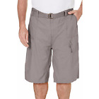 Red Face BIG and TALL BTL Mens Cargo Shorts With Belt Cotton Twill  SIZES 44-50