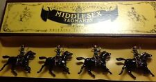 Britains 8812 Duke Of Cambridge's Middlesex Yeomanry (4ps)