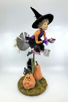 Katherine's Collection: Halloween; Pumpkin Patch Collection; Witch on Broom