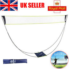 Portable Badminton Net Set w/ Stand Carrying Bag Volleyball net