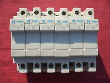 LOT 6 Réf L12601 COUPE CIRCUIT HAGER 1P+N 20A 400V FUSIBLE 8,5 x 31,5 NEUF