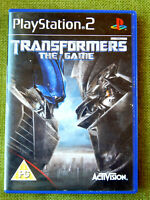 Transformers: The Game (Sony PlayStation 2, 2007, PAL, PS2, Game)