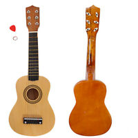 """21"""" Simple Acoustic Guitar Easy Operated 6 Strings for Beginner w/ Pick String"""