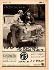 1961 MG MAGNETTE ~ ORIGINAL PRINT AD