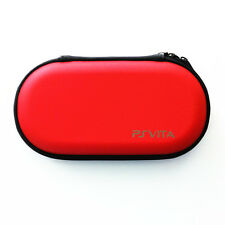 Red Hard Case Protective Carry Bag Pouch For Sony PS Vita PSV 1000 2000