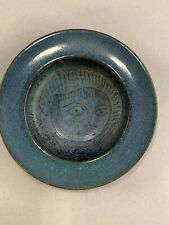 Small Scheier Family Signed Art Pottery Dish with Incised Decoration