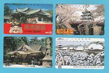 TELEPHONE CARDS  -  JAPAN  -  4  VARIOUS  JAPANESE  TELEPHONE  CARDS     ( C )