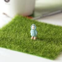 Grüner Rasen künstlicher Gras Teppich Hausgarten Boden Mini Kunststoffrasen Neu
