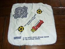 Cleveland Crunch 1990 MISL Soccer Rally Towel Hanky Marymount Sports Hospital