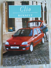 Renault Clio brochure Oct 1996 French text