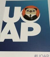 UOAP Universal Studios Orlando Annual Passholder Button August MIB Frank The Pug