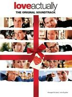 Love Actually Soundtrack  Piano, Vocal and Guitar  Book Only MUSAM85184
