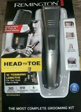 Remington HEAD To TOE Grooming Kit Charging Stand Clippers Trimmer Cordless
