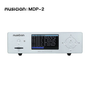 MUSICIAN MDP-2 I2S Opt Coax AES Output WAV APE FALC MP3 DSD Digital Music Player