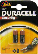 3 Packs of 2 DURACELL MN21 BATTERIES............. A23 / K23A lrv08 Alkaline ms21