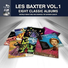 Les Baxter EIGHT (8) CLASSIC ALBUMS VOL 1 Music Out Of The Moon NEW SEALED 4 CD