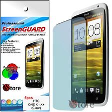 5 Film For HTC ONE X Protector Save Screen LCD Display Films