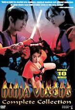 Ninja Vixens - Complete Box Set DVD 10 Disc New Rare Out Of Print