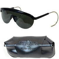 Original US 1970's Sunglasses - Vietnam War Surplus Army Pilot Wrap Around Case