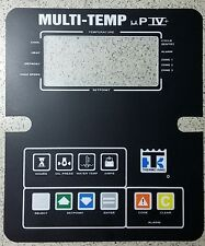 MULTI-TEMP ZONE  Thermo King, ThermoKing, FACEPLATE, OVERLAY, STICKER DECAL