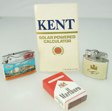 Vtg Kent Cigarette NSP's Atomic Power Plant Warco Lighters Marlboro Box Matches