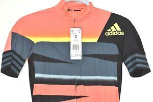 Adidas Adistar Maillot Cycling Form Fitting Jersey FJ6573 Men's Size S $160