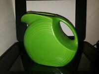 Fiesta-Ware Fiesta Disc Pitcher Green Homer Laughlin Pottery China