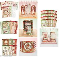 Hunkydory Card Making Die-Cut Kit Window to the Heart Season's Greetings  *